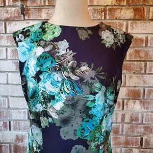 Liz Claiborne Floral Dress Sz 10